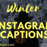 Winter Instagram Captions