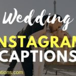 Best Wedding Captions for Instagram