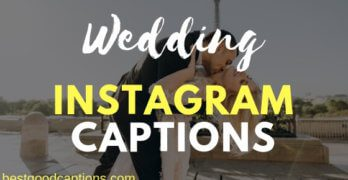 Best Wedding Captions for Instagram