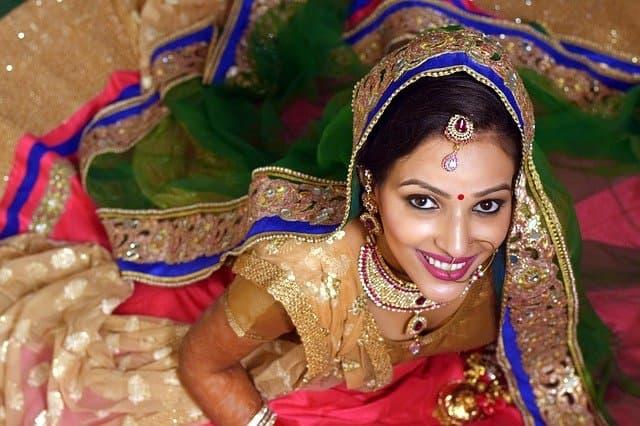 Indian Bride BestGoodCaptions.com