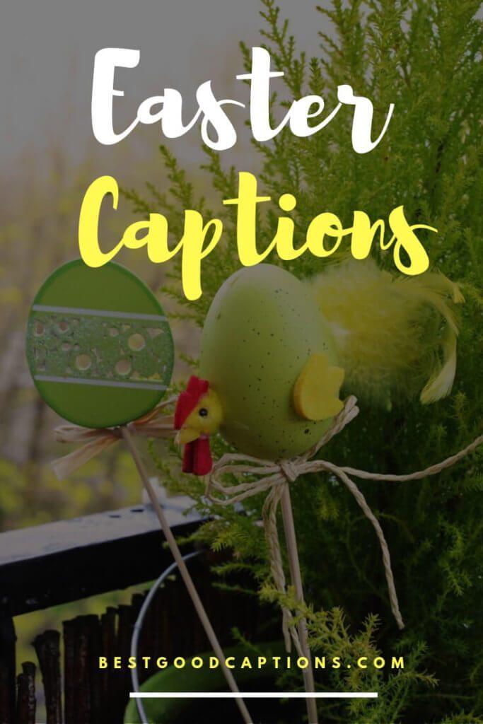 Easter Captions Pinterest