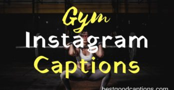 Best Gym Captions for Instagram