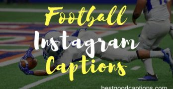 Football Captions for Instagram