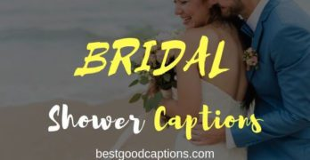 Bridal Shower Captions for Instagram