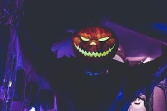 Scary Devil Halloween Captions