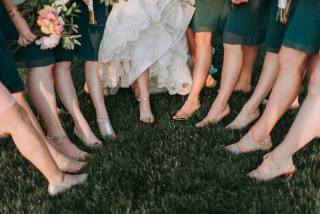 Wedding Captions for Bridesmaid