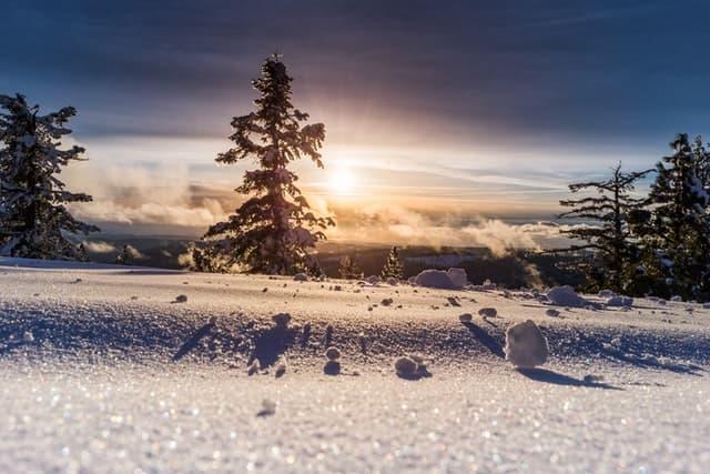 Baddie Snow Captions
