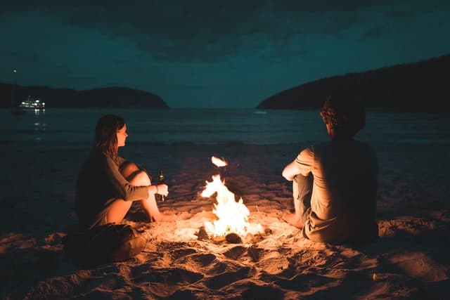 Fire Captions for Couples