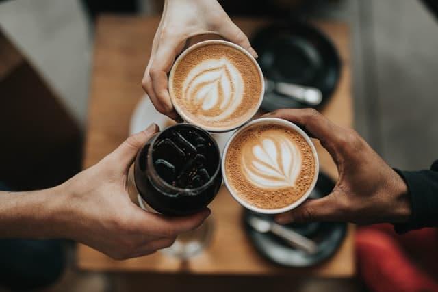 Evening Coffee Captions