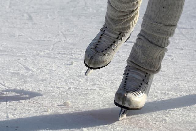 Ice Skating Captions