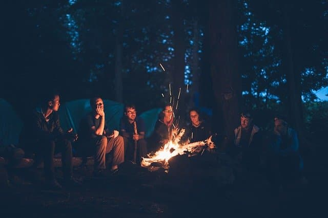 Camping with Friends Instagram Captions