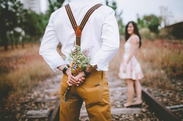 Flower Captions for Couples
