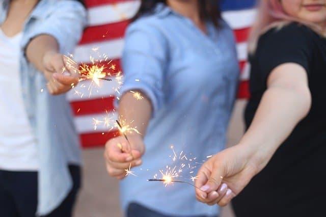 Catchy Firework Captions