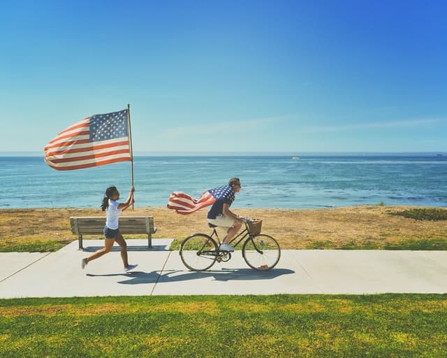 Cheesy 4th of July Captions for Couples