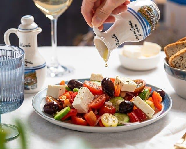 Greek Salad Captions for Instagram