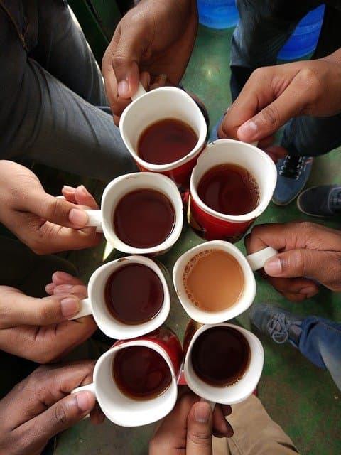 Tea Photo Captions for Friends