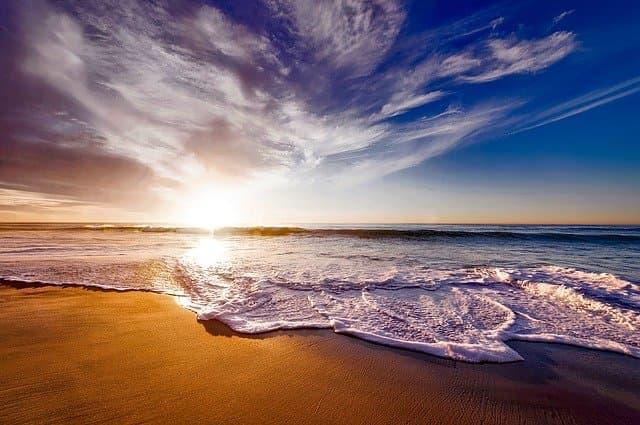 Beach Scenery Captions