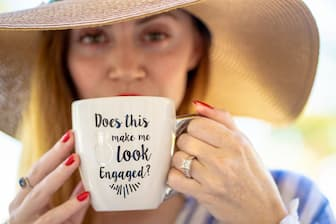 Engagement Ring Captions for Bride