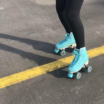 Funny Roller Skating Captions