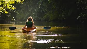 Kayaking Captions for Instagram Post