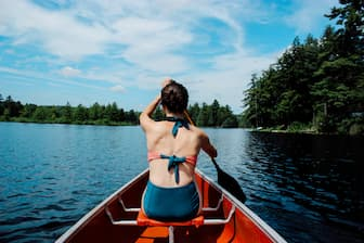 Kayaking with Boyfriend Captions