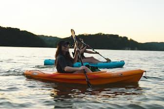Summer Kayaking Captions