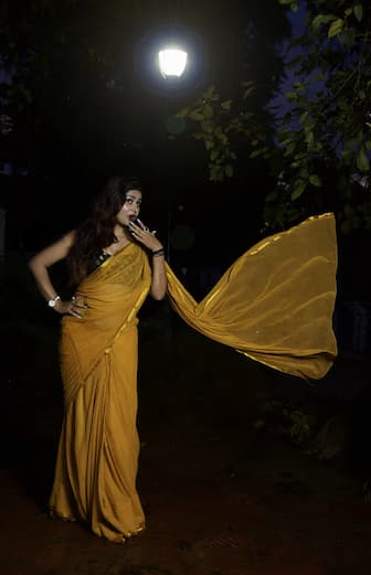 Wearing Mom's Saree Quotes