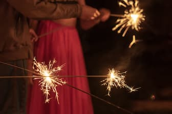 Diwali Captions for Girl Pic