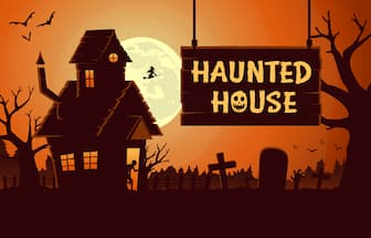 Hunted House Captions for Instagram Post