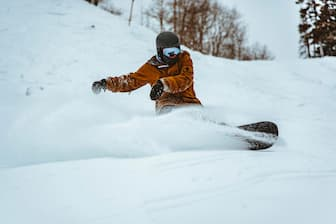 Snowboarding Captions for Instagram Post