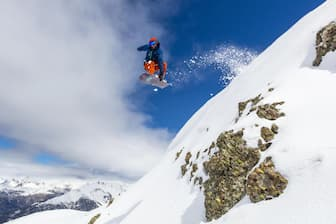 Snowboarding Captions with Boyfriend